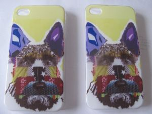 Mobile cover with scottie