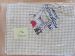 Kitchen towel parson terrier
