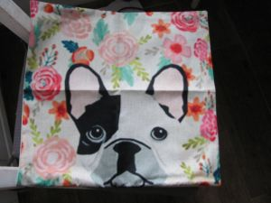 Pillow cover dog -